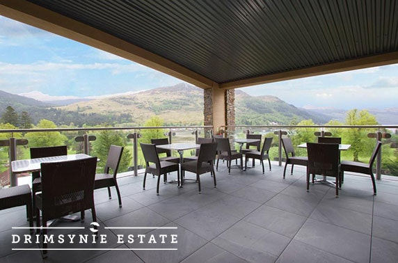 Award-winning Drimsynie Estate Hotel getaway