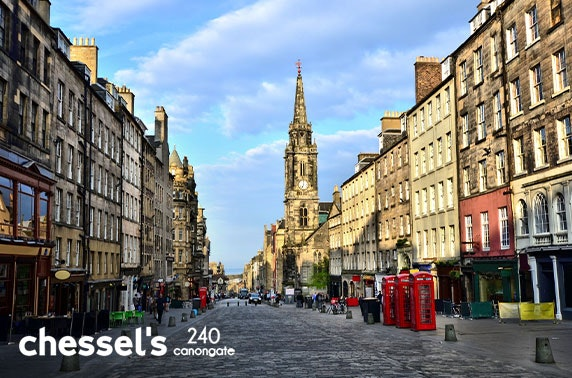 Newly-opened Chessel's, Royal Mile