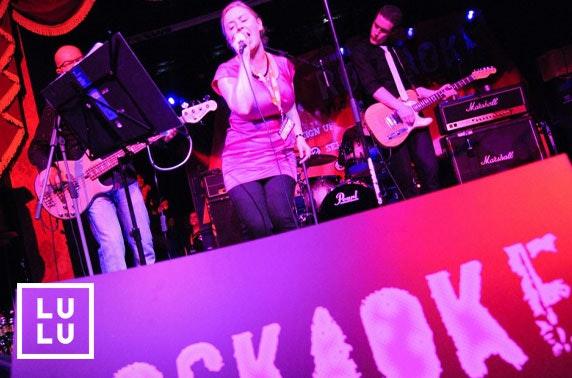 Rockaoke at Lulu's