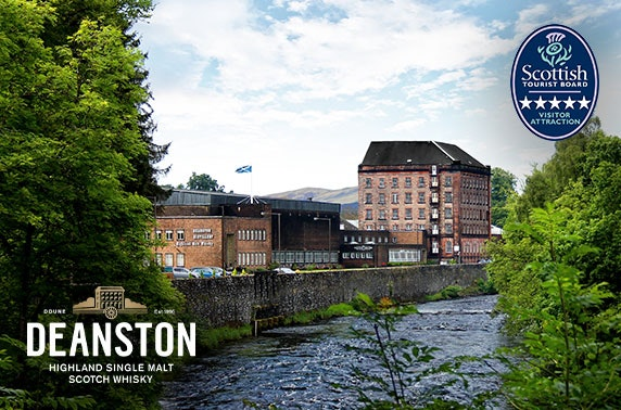 5* Deanston Distillery experience