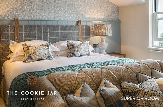 The Cookie Jar stay, Alnwick