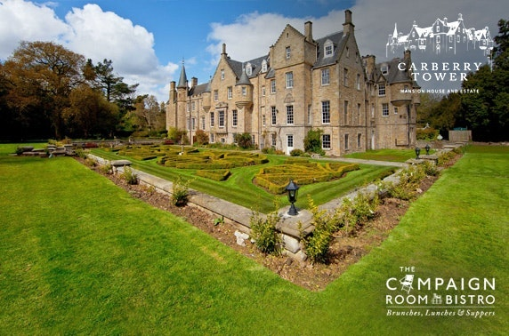 4* Carberry Tower dining - valid 7 days!