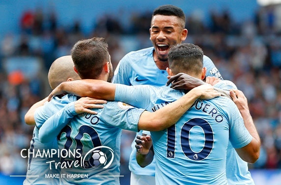 Man City FC hospitality tickets