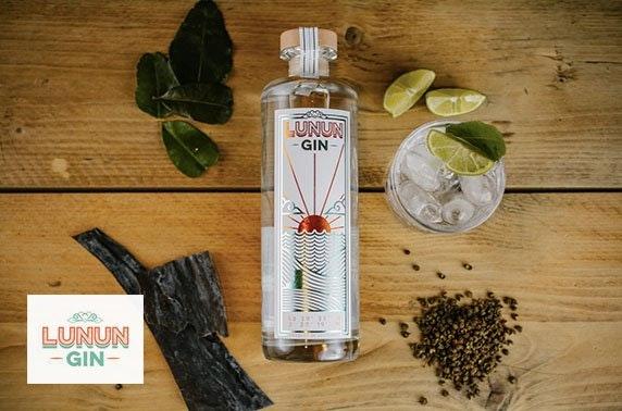Lunun Gin tasting at Haar Restaurant