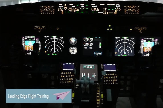 Flight simulator experience, Glasgow Airport