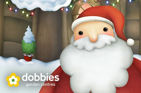 Santa's grotto at Dobbies Garden Centre, Edinburgh