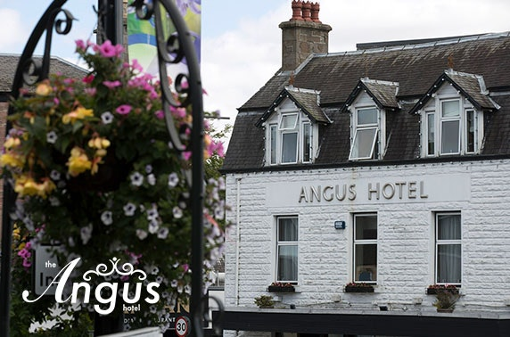 The Angus Hotel DBB & afternoon tea, Blairgowrie