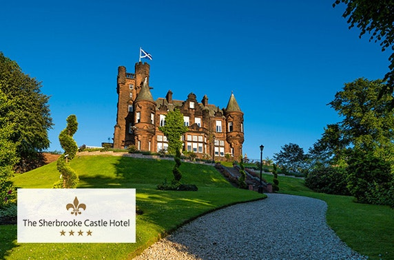 4* The Sherbooke Castle Hotel, Sunday roast