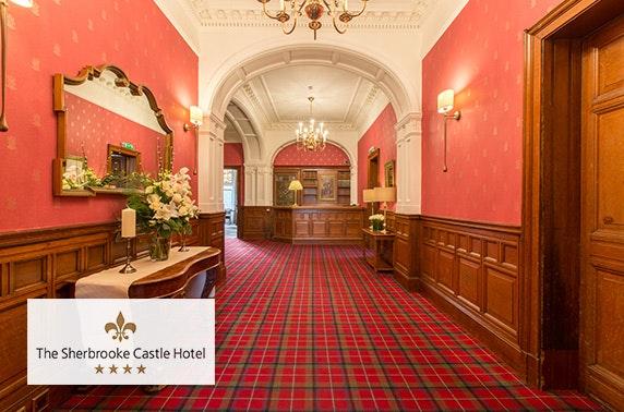 4* The Sherbooke Castle Hotel, Sunday roast