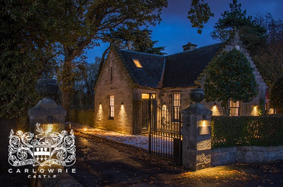 Luxury Carlowrie lodge getaway