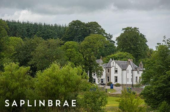 Saplinbrae Hotel & Lodges, Aberdeenshire - from £79
