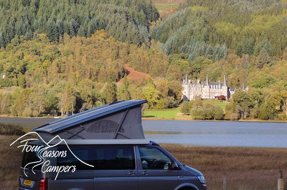 All inclusive VW campervan hire from £15pppn