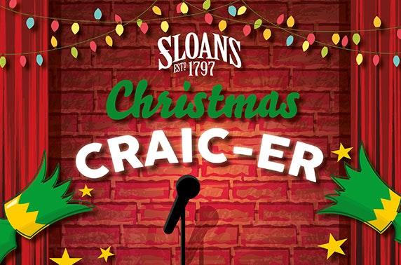 Christmas Craic-er at Sloans