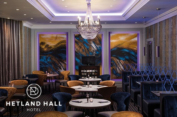 4* Hetland Hall Hotel afternoon tea