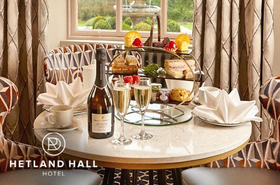 4* Hetland Hall Hotel afternoon tea