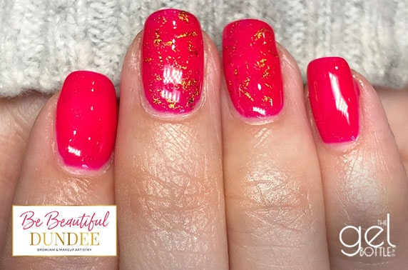 Gel manicure at Be Beautiful, City Centre