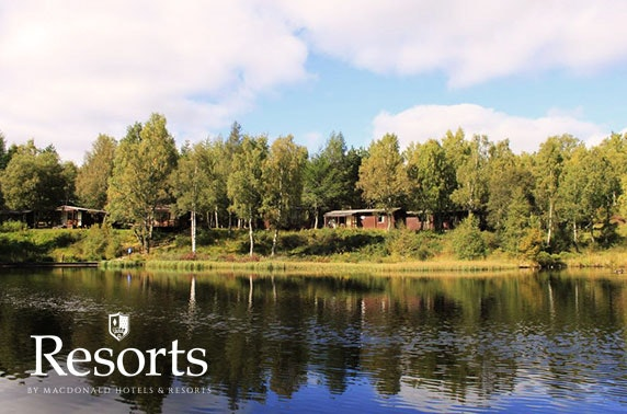 Macdonald Lochanhully Resort lodges - £9pppn