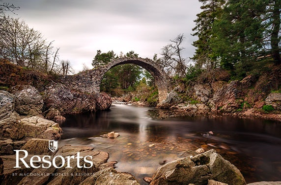 Macdonald Lochanhully Resort lodges - £9pppn