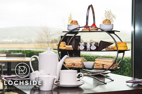 4* Lochside House afternoon tea