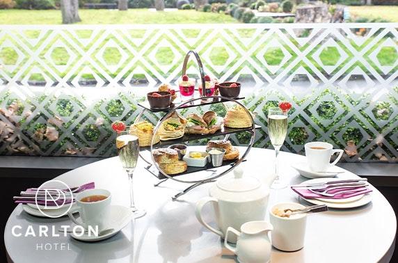 Carlton Hotel afternoon tea, Prestwick