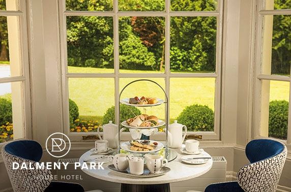Dalmeny Park House Hotel afternoon tea