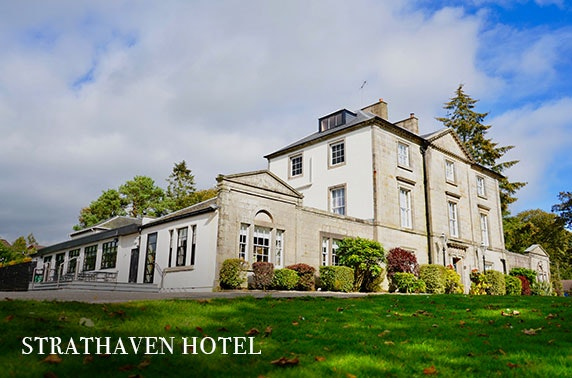 Strathaven Hotel Prosecco afternoon tea