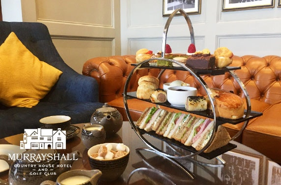 4* Murrayshall House Hotel afternoon tea