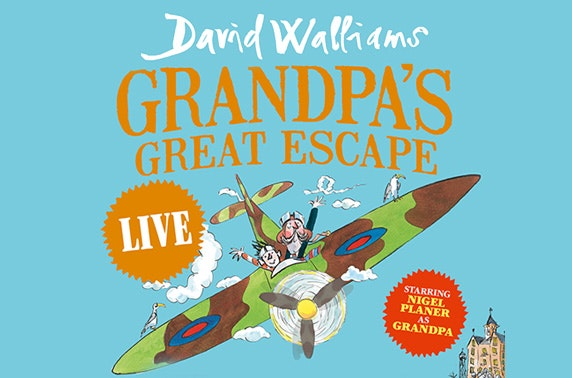 Grandpa's Great Escape, Manchester Arena - from £13.50pp