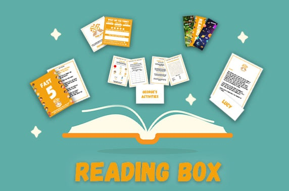 Personalised children's reading gift boxes