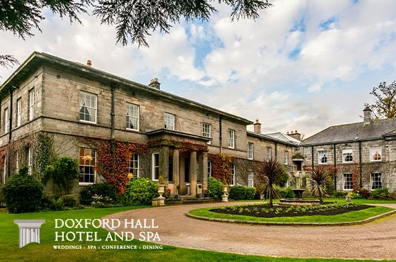 Lunch & leisure access at 4* Doxford Hall Hotel & Spa