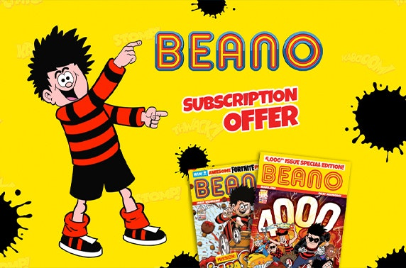 Beano subscription - from £1 per issue