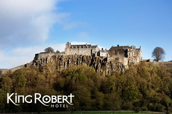 King Robert Hotel, Stirling - valid 7 days