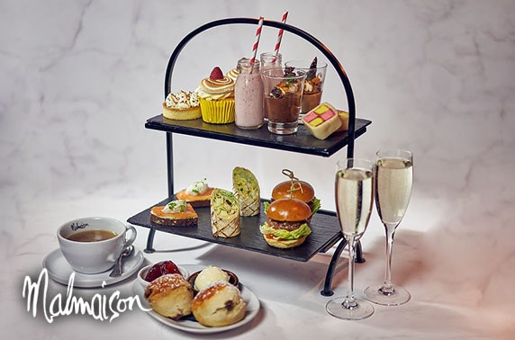 4* Malmaison Edinburgh Prosecco afternoon tea