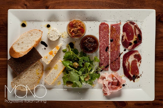 Mono sharing boards and drinks, City Centre