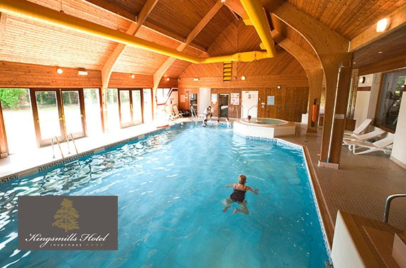 Spa day at 4* Kingsmills Hotel, Inverness