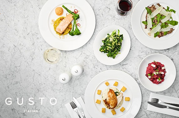 Gusto dining, Glasgow City Centre