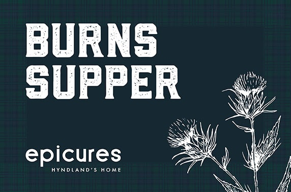 Burns Night at epicures, Hyndland