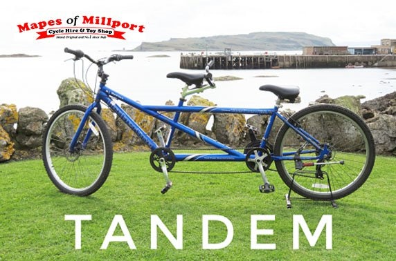 Mapes of Millport, bike hire