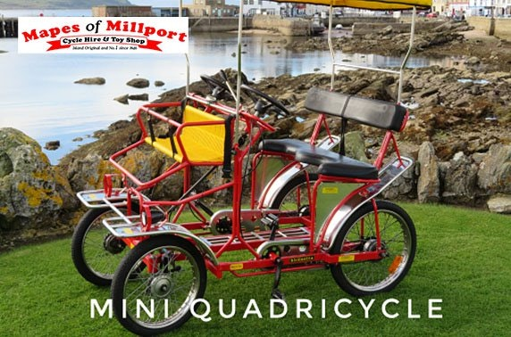 Mapes of Millport, bike hire