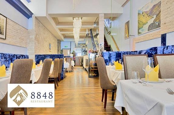 Award-winning 8848 Restaurant