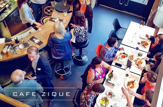 Cafezique West End mains - from £7.25pp