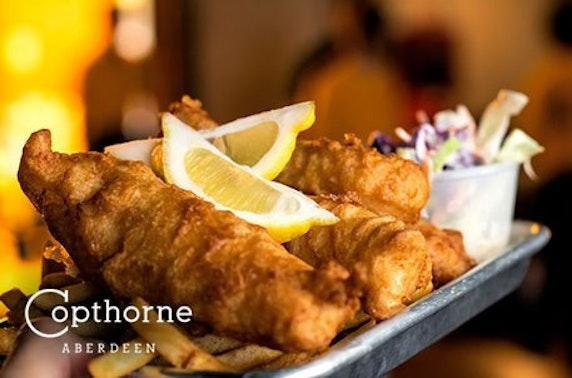 4* Copthorne Hotel dining