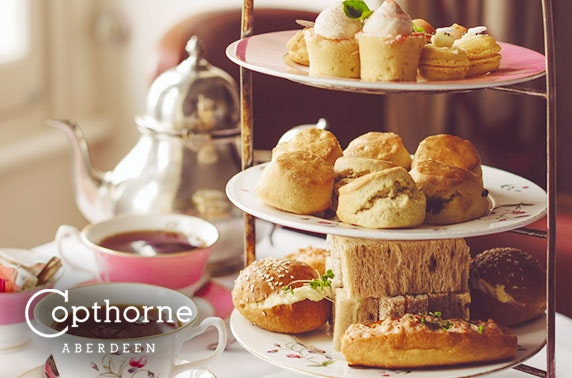 4* Copthorne Hotel afternoon tea