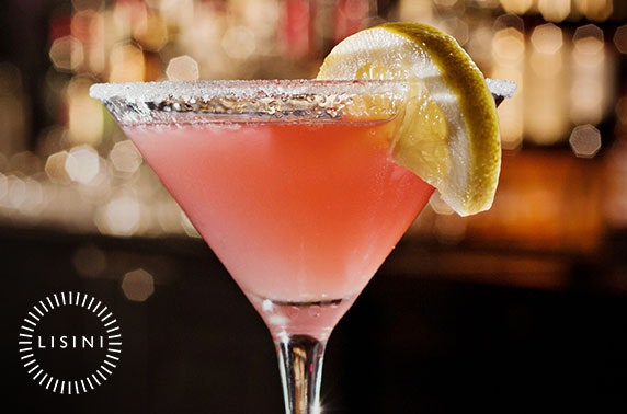 £4 cocktails at 3 top Lanarkshire bars