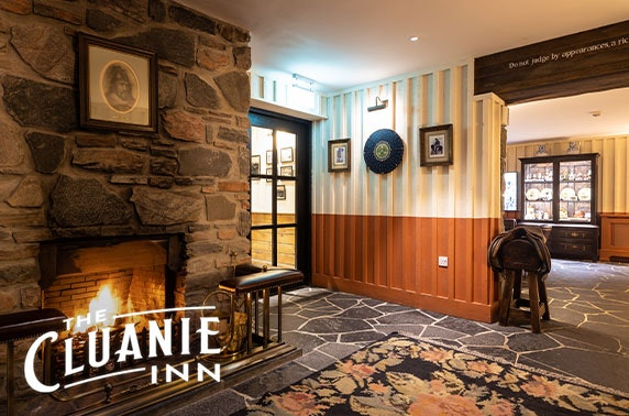 The Cluanie Inn getaway