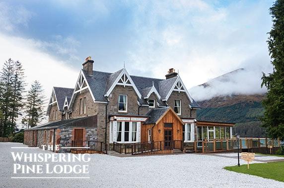 Loch Lochy Highland getaway; valid 7 days