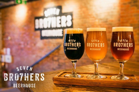 Brand new Seven Bro7hers Beerhouse tasting & small plates