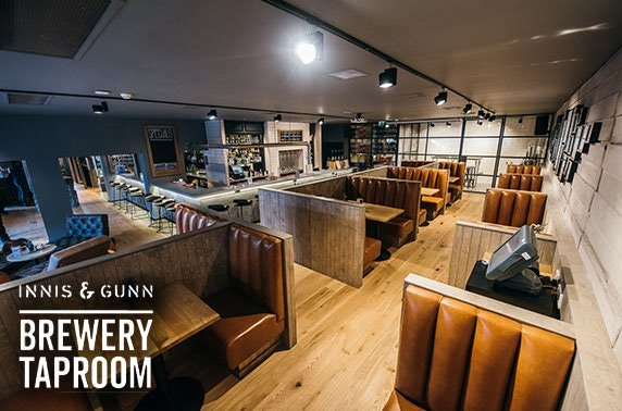 Innis & Gunn Brewery Taproom, Dundee steak dining