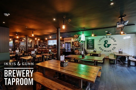 Innis & Gunn Brewery Taproom, Glasgow steak dining