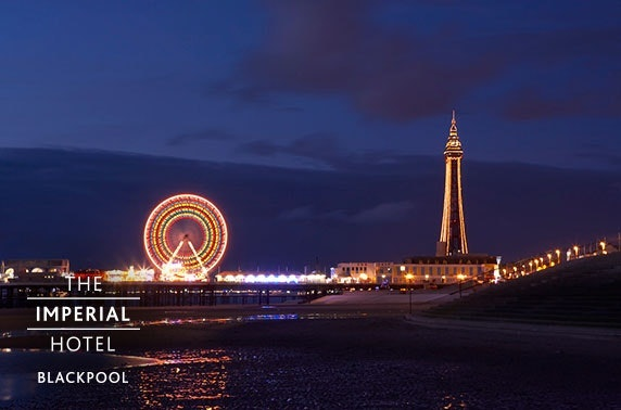 4* Blackpool Promenade stay